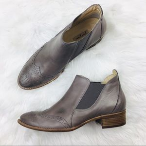 Paul Green | Gray Jay Slip-on Ankle Booties 7.5M